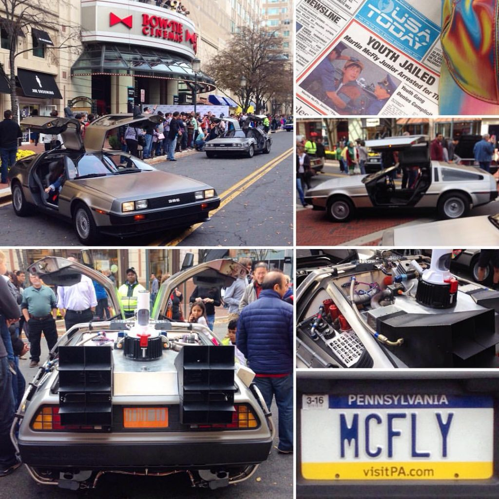 Celebrating the 30th Anniversary of Back to the Future at Washington West