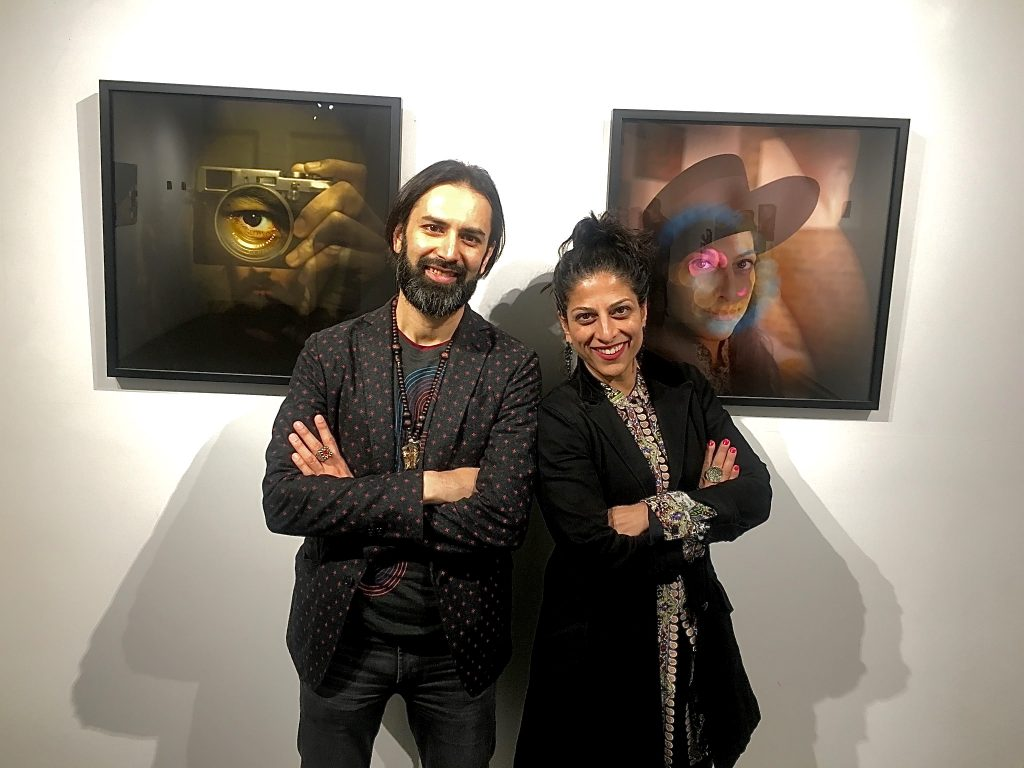 Faisal and Rubina at The Art of Post